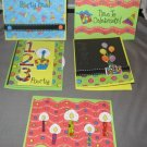 Time to celebrate birthday  greeting card assortment lot of 5 A19
