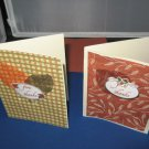 Two Handmade Give Thanks Thanksgiving Cards THG9