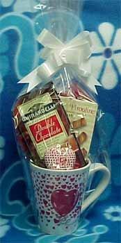 Valentine Mug with Candy & Snacks #198347