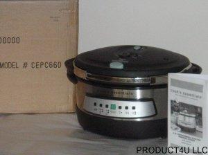 Cook's Essentials CEPC660 6 QT. Pressure Cooker
