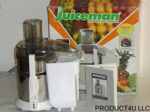 JUICEMAN PRO JUICER AUTOMATIC JUICE EXTRACTOR JM419SS