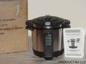 Cook's Essentials CEPC600S 6 QT. Pressure Cooker