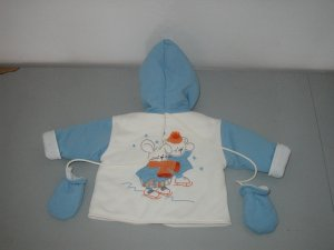 Patineur Jacket with Mittens -Size 12M
