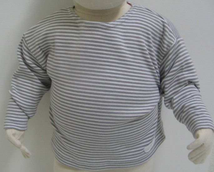 SUCETTE Antimicrobial Cotton Long sleeve T-shirt- 12M, Sky blue. Imported.