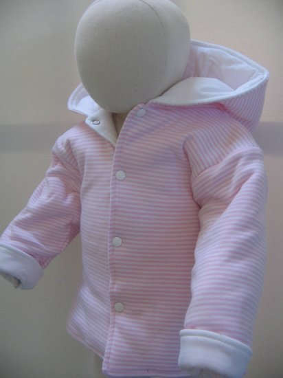 SUCETTE Antimicrobial Cotton Parka jacket- 6M, Violet. Imported.