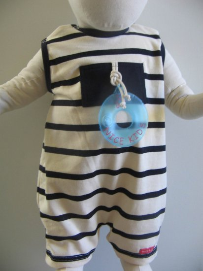 End of Summer SALE item- AZUR Bodysuit- 6M, Imported from France- FREE SHIPPING