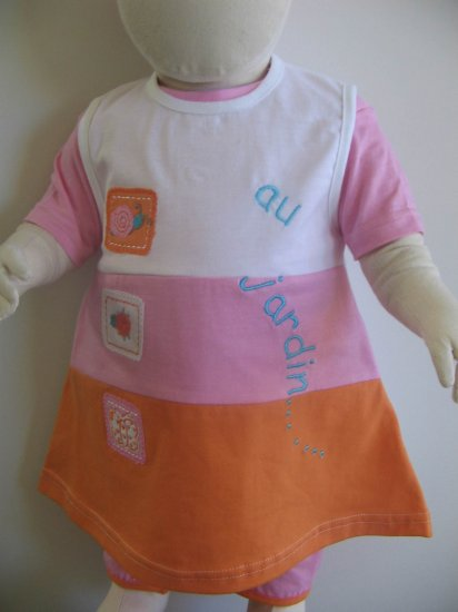 JARDIN Dress- 24M, Imported from France, FREE SHIPPING