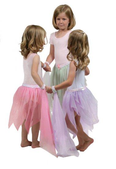 Girls Purple Fairy Dance Tutu - Ages 3-9