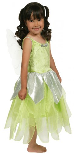 Girls Deluxe Tinkerbell Costume - Size 4/6