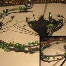 Green Wire bracelet