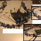 Blue Wire bracelet
