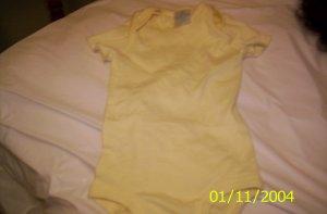 2 Mini Wear Size XXL Yellow Unisex Onesies