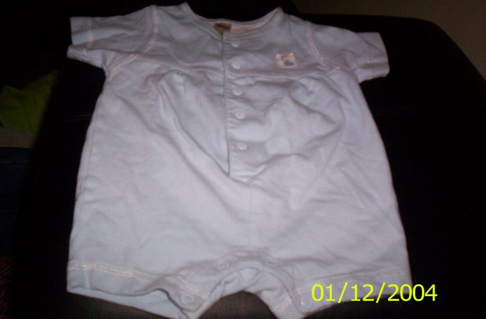George Blue 3-6 Month Outfit