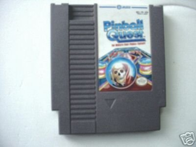 NES Pinball Quest Game Vintage Retro Rare!