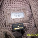The Sak Beige Woven style purse Gently Used