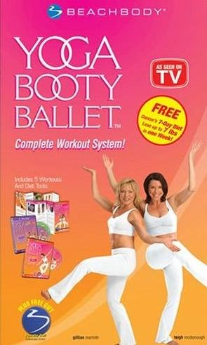 Yoga Booty Ballet Complete Workout System NEW!!!