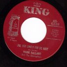 KING 6228 HANK BALLARD Are You Lonely For Me Baby/With