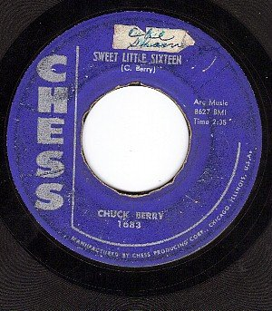 CHESS 1683 CHUCK BERRY Sweet Little Sixteen/Reelin And