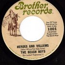 BROTHERS 1001 45 BEACH BOYS Heroes And Villains/You're