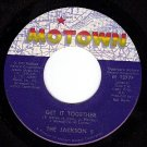 M- 45 MOTOWN 1277 JACKSON 5 ~ Get It Together ~ Touch
