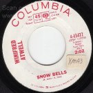 43472 Promo 45 WINIFRED ATWELL Snow Bells ~ Flea Circus