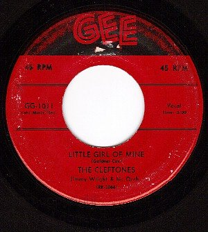 GEE 1011 CLEFTONES LIttle Girl Of Mine ~ You're Driving