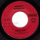 NM COLUMBIA MARTY ROBBINS 45215 Jolie Girl ~ The City