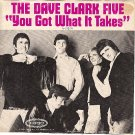 PICTURE SLEEVE DAVE CLARK FIVE 5-10155 Got What It Take