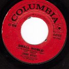 NM COLUMBIA 4-41410 JOHNNY MATHIS Small World ~ You Are