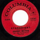 COLUMBIA 4-41583 JOHNNY MATHIS Starbright ~ All Is Well