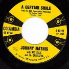 COLUMBIA 4-41193 JOHNNY MATHIS A Certain Smile ~ Let It