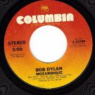 NM 45 COLUMBIA 3-10298 BOB DYLAN Mozambique ~ Oh Sister