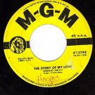 MGM K12748 CONWAY TWITTY Story Of My Love/Make Me Know