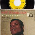 EPIC 45 + PS EG 7158 ROY HAMILTON Without A Song/Little