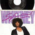 ARISTA 9642 PROMO 45 + PS WHITNEY HOUSTON So Emotional