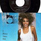ARISTA 9598 45 + PS WHITNEY HOUSTON I Wanna Dance With