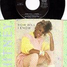 ARISTA 9434 45 + PS WHITNEY HOUSTON ~ How Will I Know