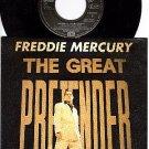 NM UK IMPORT FREDDIE MERCURY Great Pretender/Love Kills