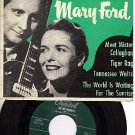 LES PAUL/MARY FORD CAPITOL EAP 2-416 Sunrise/Callaghan