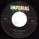 45 IMPERIAL 5663 RICKY NELSON Young Emotions/By My Side