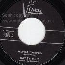 VISTA 45 HAYLEY MILLS ~ Jeepers Creepers ~ Johnny Jingo