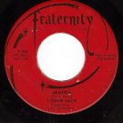 FRATERNITY 906 LONNIE MACK Memphis ~ Down In The Dumps