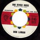WB 5272 PROMO BOB LUMAN Big River Rose/Belonging To You