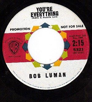 NM 45 PROMO WB 5321 BOB LUMAN You're Everything ~ Envy