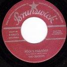 NM BRUNSWICK 9-55072 CRICKETS Fools Paradise ~ Think It