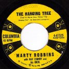 COLUMBIA MARTY ROBBINS 41325 Hanging Tree/Blues Country
