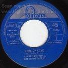 FONTANA 45 WAYNE/MINDBENDERS Game Of Love/One More Time