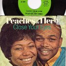 DATE 2-1549 45+ PS PEACHES & HERB Close Your Eyes/Over