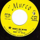MURCO 1042 EDDY G GILES Baby Be Mine/Love With Feeling