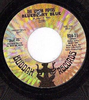 NM PROMO 45 BUDDAH 31 LEMON PIPERS ~ Blueberry Blue